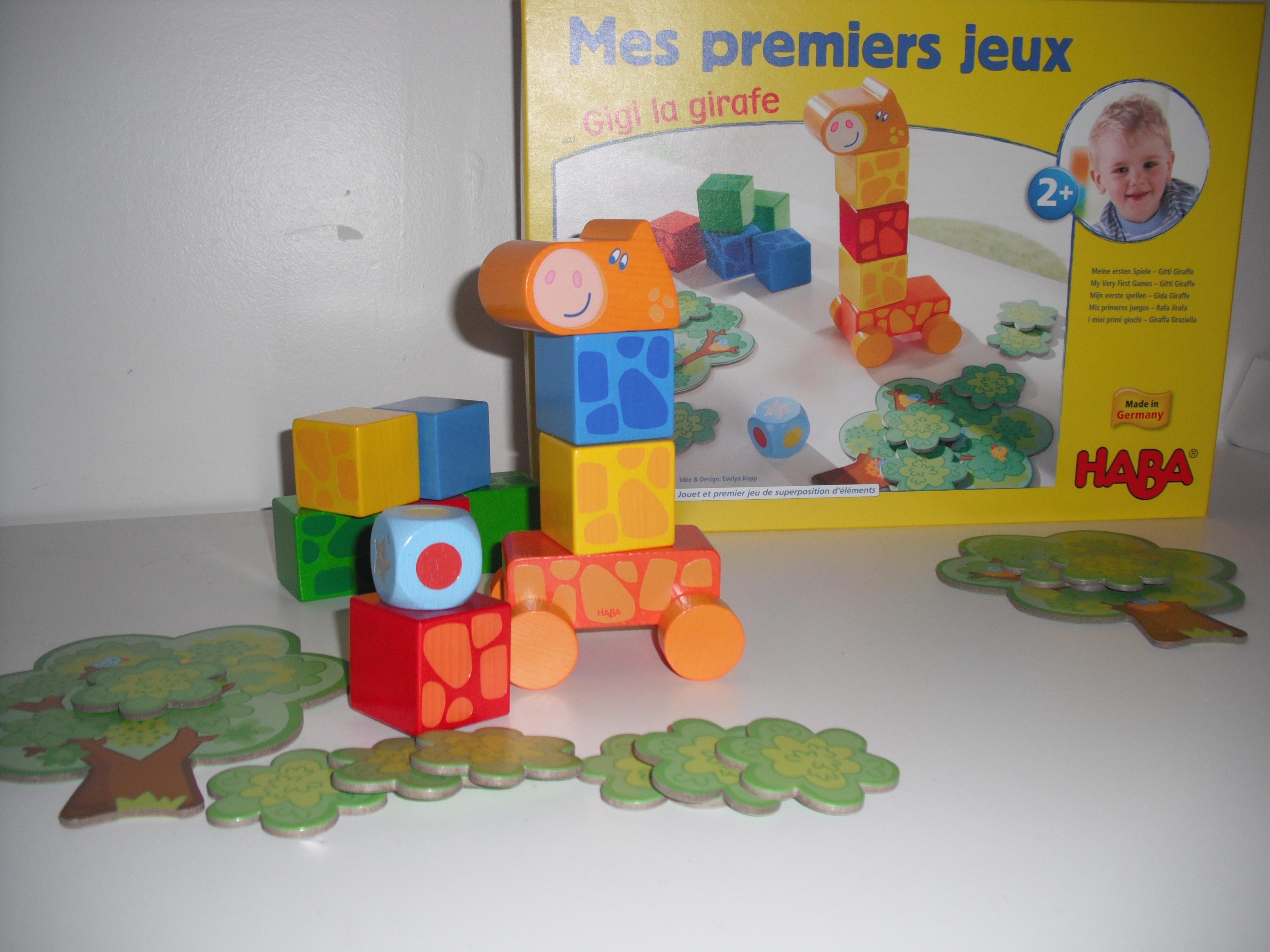 """Gigi la girafe, un jeu cycle 1 pour faire grandir à """"cou"""" sûr les tout-petits, petits"""