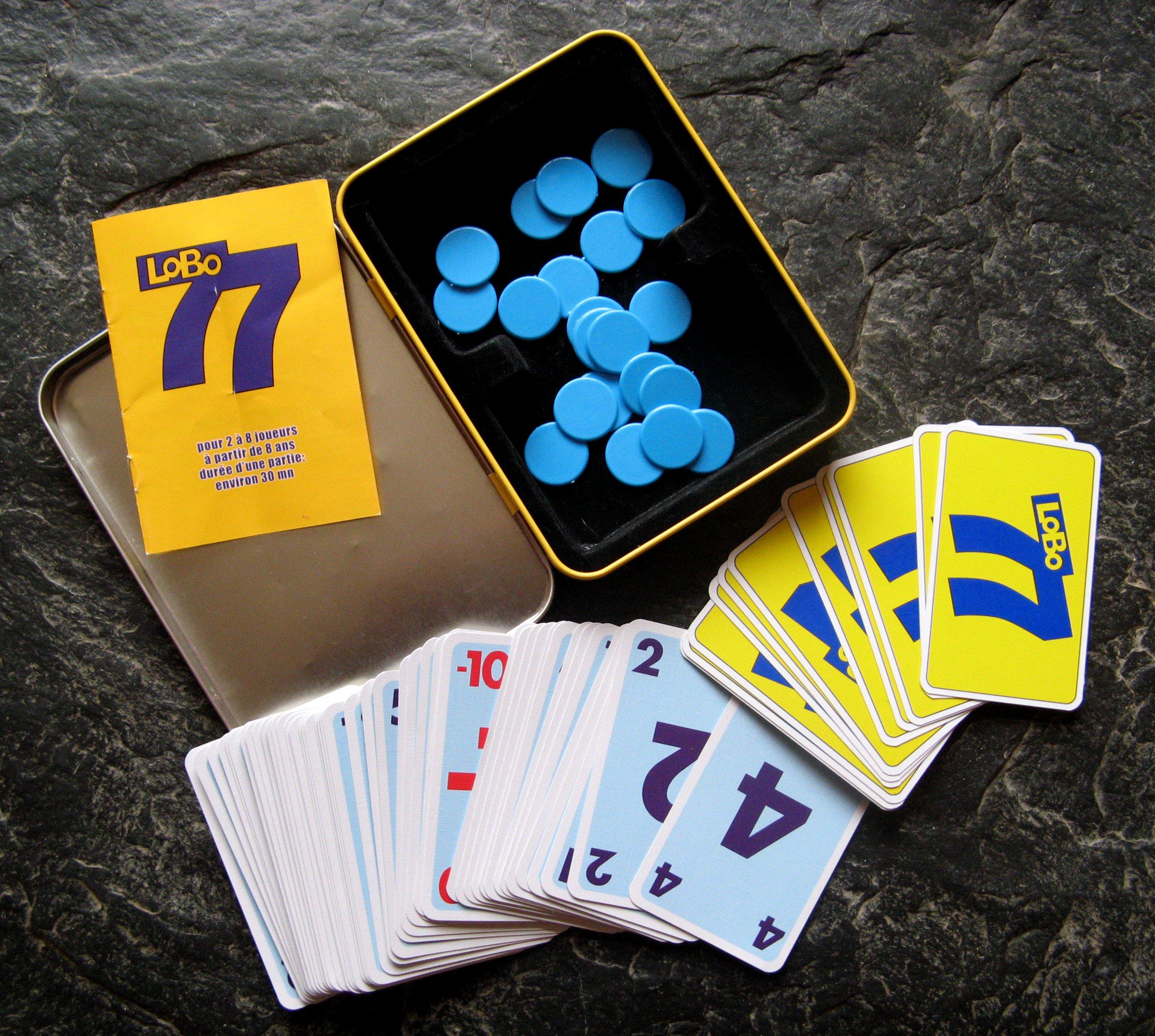Lobo 77, jeu de calcul mental et de gestion des cartes aux cycles 2 et 3