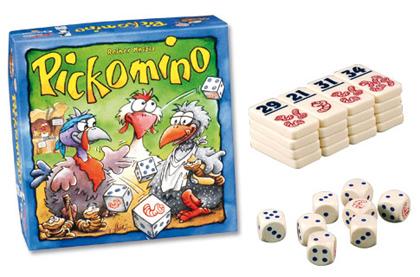 PICKOMINO ou quand calcul mental rime avec divertissement : allez les poules !