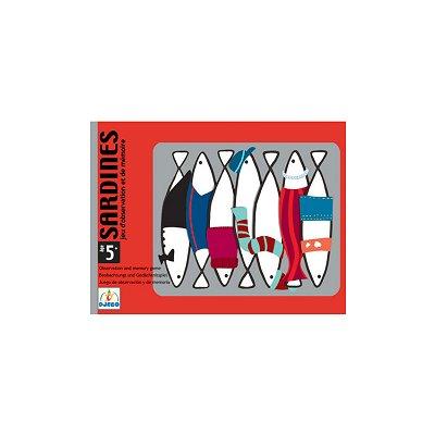 Sardines, jeu de mémorisation visuelle cycles 1 et 2.