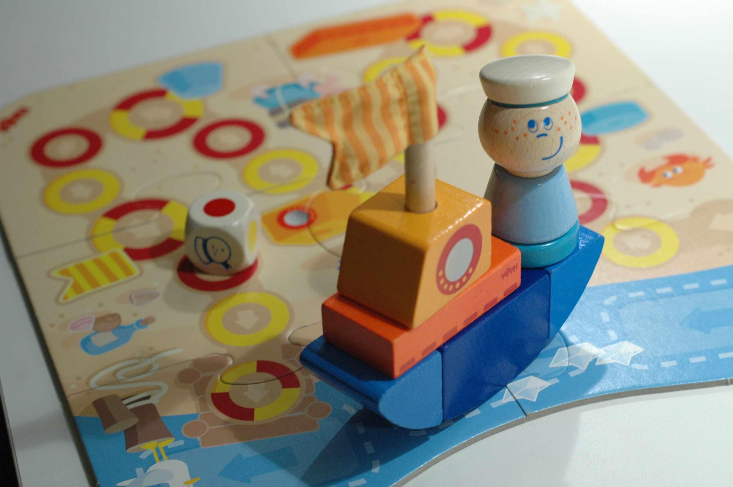 Ohé Matelot, jeu cycle 1 de coopération et d'agileté motrice pour les tout petits, petits.
