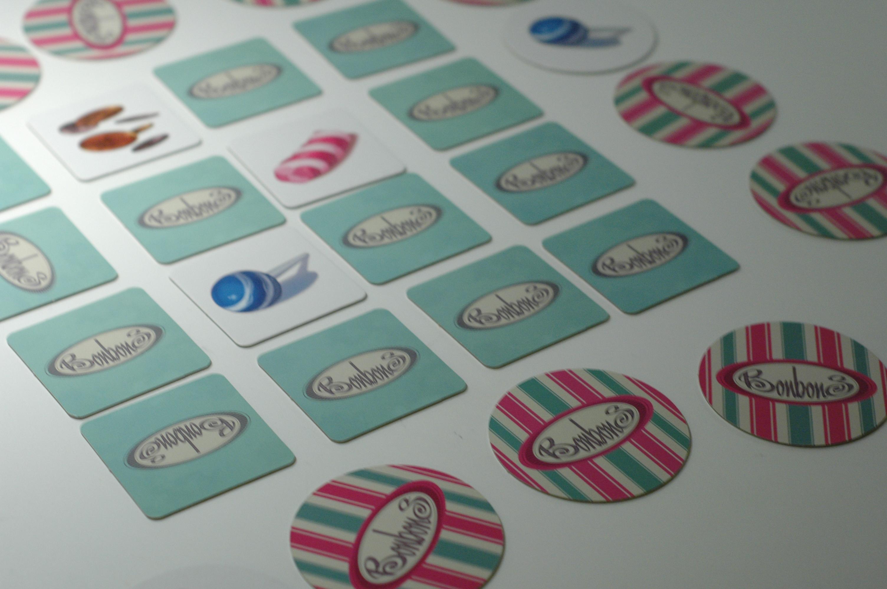 Bonbons, jeu de mémorisation pour cycles 1,2&3