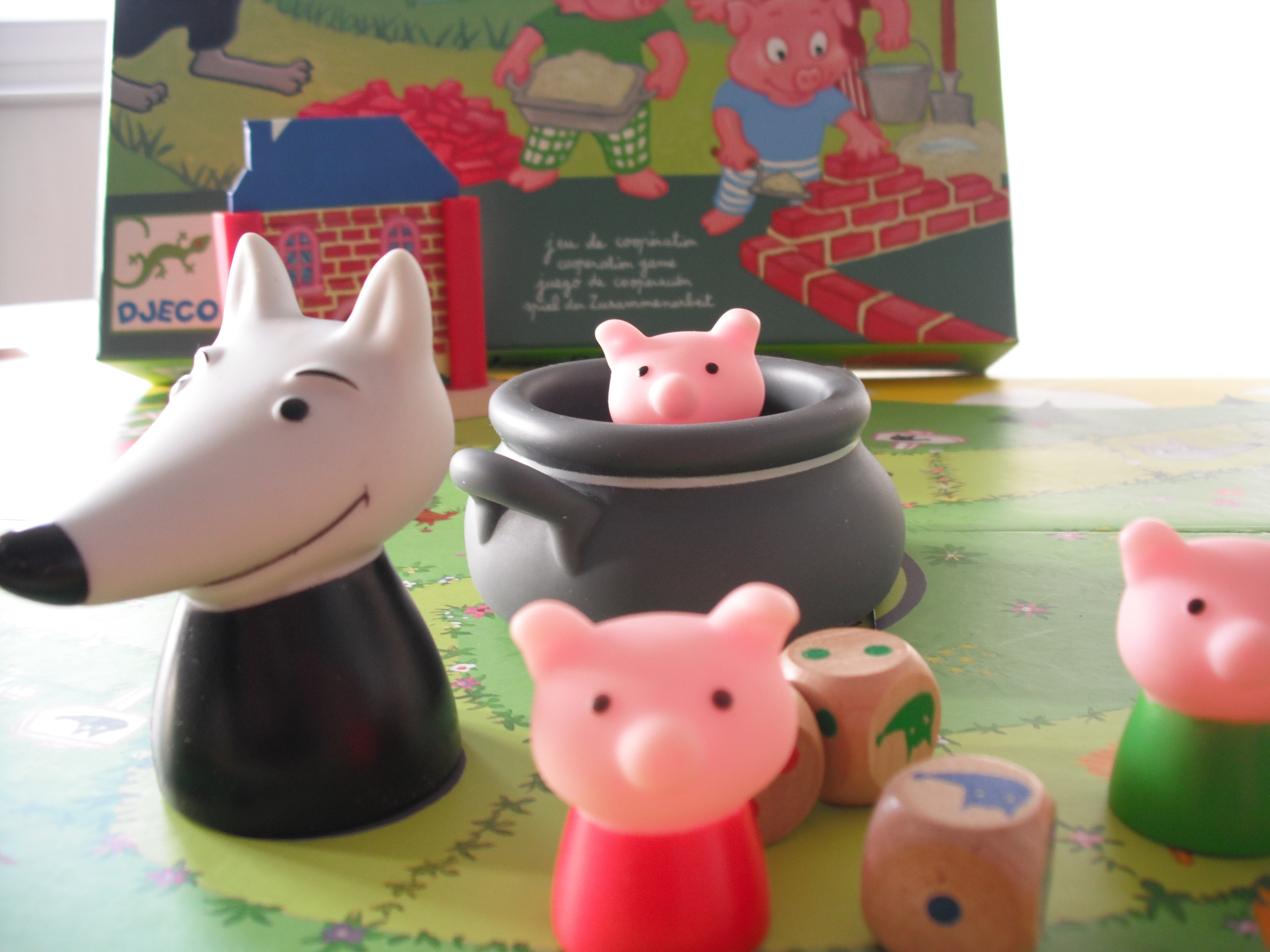 Woolfy, jeu coopératif pour cycles 1 & 2